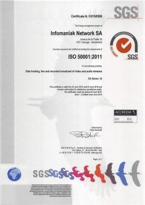 ISO50001-infomaniak