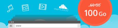 Hébergement Web avec 100 Go d'espace disque