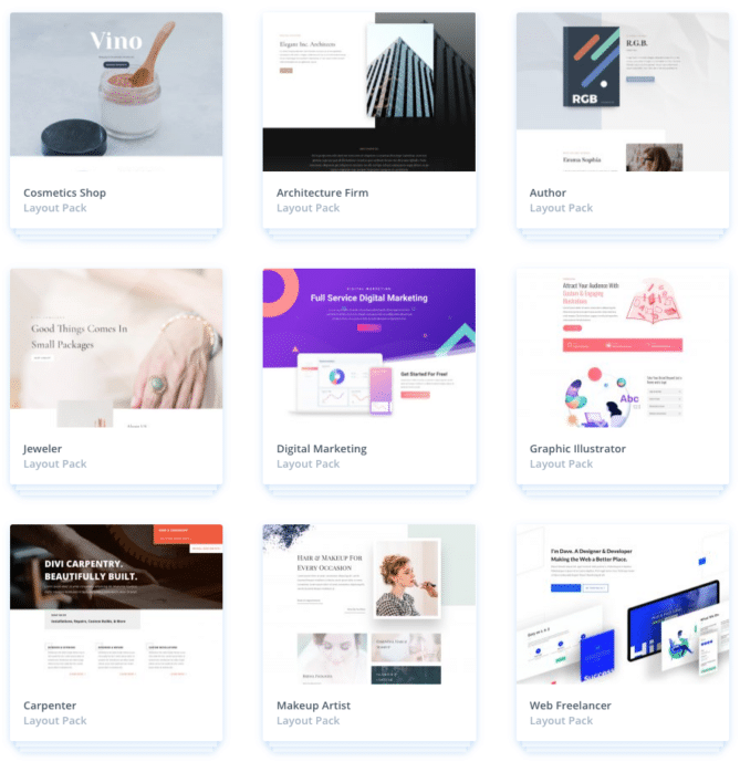 Web hosting with DIVI: free access to all WordPress themes